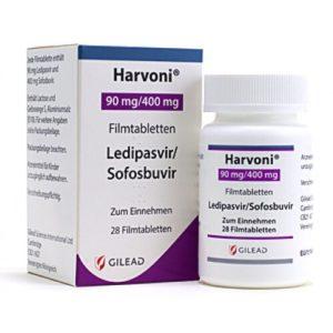 Харвони (Harvoni) - Софосбувир (sofosbuvir) - Ледипасвир (ledipasvir)