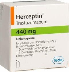 Герцептин (Herceptin) – Трастузумаб (Trastuzumabum)