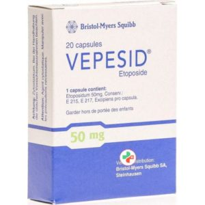 Вепезид (Vepesid) - Этопозид (Etoposide)