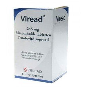 Виреад (Viread) - Тенофовира Дизопроксила Фумарат (Tenofovir)