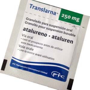 Аталурен (Трансларна) -Ataluren (Translarna)