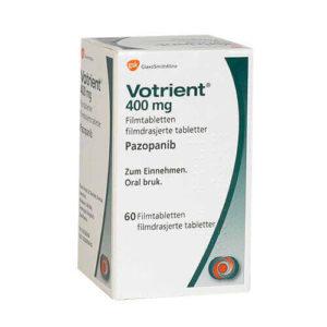Вотриент (Votrient) - Пазопаниб (Pazopanib)