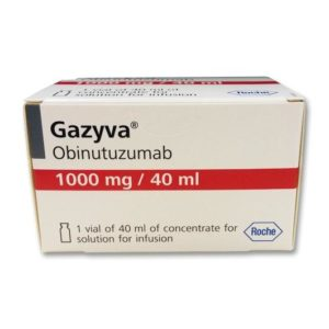 Газива (Gazyva) - Обинутузумаб (Obinutuzumab)
