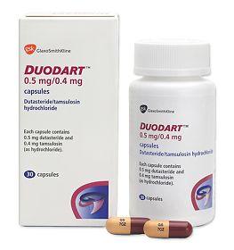 Дуодарт (Duodard) - Дутастерид, Тамсулозин (Dutasteridum, Tamsulosinum)