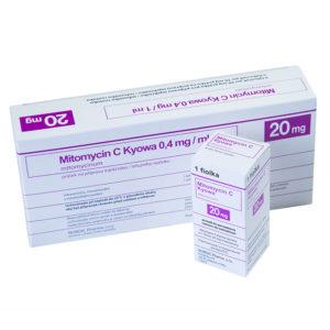 Митомицин (Mitomycinum)
