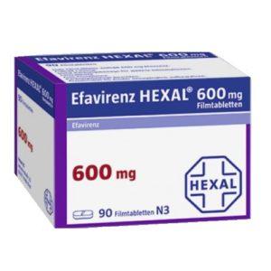 Эфавирэнз Hexal (Эфавирэнз)
